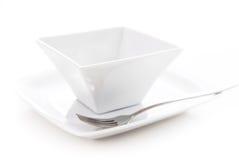 πιάτο κύπελλων Στοκ εικόνα με δικαίωμα ελεύθερης χρήσης
