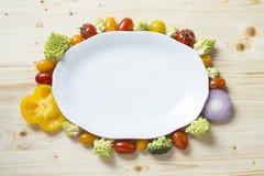 Πιάτο λαχανικών στοκ φωτογραφία