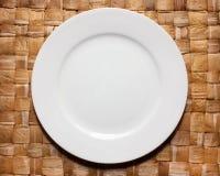 πιάτο μαξιλαριών μπαμπού Στοκ φωτογραφίες με δικαίωμα ελεύθερης χρήσης