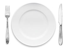 πιάτο μαχαιροπήρουνων Στοκ φωτογραφία με δικαίωμα ελεύθερης χρήσης