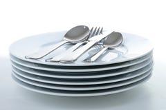 πιάτο μαχαιροπήρουνων Στοκ εικόνες με δικαίωμα ελεύθερης χρήσης