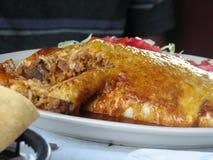 πιάτο μεξικανός Στοκ Εικόνα