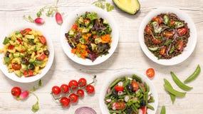 Πιάτο με τη φυτική σαλάτα στοκ εικόνες με δικαίωμα ελεύθερης χρήσης