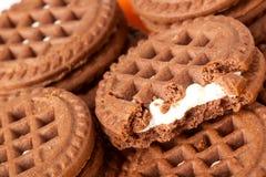 πιάτο μπισκότων Στοκ Εικόνες