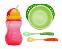 Πιάτο μωρών Στοκ εικόνα με δικαίωμα ελεύθερης χρήσης