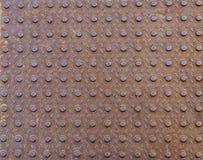 Πιάτο πατωμάτων μετάλλων Στοκ Φωτογραφίες