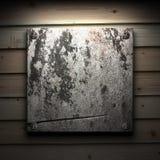 Πιάτο πετρών στον τοίχο Στοκ Εικόνες