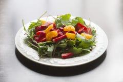Πιάτο σαλάτας φρούτων των τροφίμων στοκ εικόνες με δικαίωμα ελεύθερης χρήσης