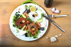 Πιάτο σαλάτας Στοκ Εικόνες
