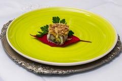 Πιάτο σουσιών Στοκ εικόνα με δικαίωμα ελεύθερης χρήσης