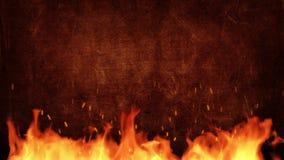 Πιάτο τίτλου πυρκαγιάς φιλμ μικρού μήκους