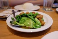 πιάτο Ταϊλανδός Στοκ Εικόνες