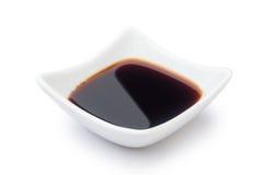 πιάτο της σάλτσας σόγιας Στοκ εικόνα με δικαίωμα ελεύθερης χρήσης