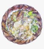 Πιάτο της σούπας Στοκ φωτογραφία με δικαίωμα ελεύθερης χρήσης