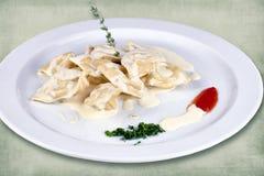 Πιάτο του εστιατορίου στοκ φωτογραφία