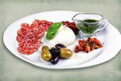 Πιάτο του εστιατορίου στοκ εικόνα με δικαίωμα ελεύθερης χρήσης