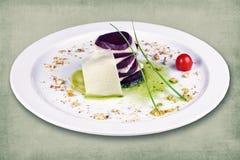 Πιάτο του εστιατορίου Στοκ φωτογραφίες με δικαίωμα ελεύθερης χρήσης