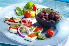 Πιάτο του antipasti Στοκ εικόνα με δικαίωμα ελεύθερης χρήσης