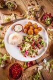 Πιάτο του falafel Στοκ εικόνα με δικαίωμα ελεύθερης χρήσης