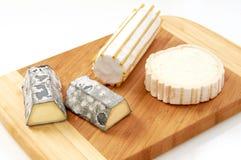Πιάτο τυριών αιγών Στοκ φωτογραφία με δικαίωμα ελεύθερης χρήσης