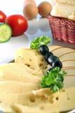 πιάτο τυριών Στοκ Εικόνες