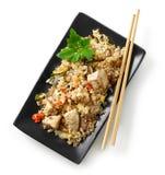Πιάτο των ασιατικών τροφίμων στοκ φωτογραφίες με δικαίωμα ελεύθερης χρήσης