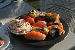 Πιάτο των σουσιών Στοκ φωτογραφία με δικαίωμα ελεύθερης χρήσης