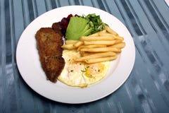 Πιάτο των τροφίμων Στοκ Εικόνες