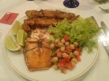 Πιάτο των τροφίμων Στοκ Φωτογραφίες