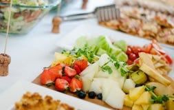Πιάτο των φρούτων Στοκ Εικόνα