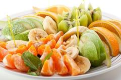 Πιάτο φρούτων Στοκ φωτογραφίες με δικαίωμα ελεύθερης χρήσης