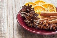 Πιάτο Χριστουγέννων Στοκ Εικόνα