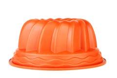 Πιάτο ψησίματος για το cupcake Στοκ εικόνες με δικαίωμα ελεύθερης χρήσης