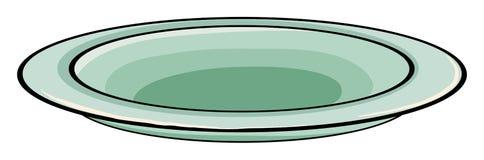 πιάτο Στοκ εικόνα με δικαίωμα ελεύθερης χρήσης