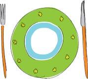 πιάτο απεικόνιση αποθεμάτων