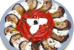 πιάτο antipasti Στοκ εικόνες με δικαίωμα ελεύθερης χρήσης