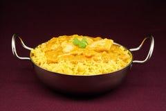 Πιάτο balti του Korma κοτόπουλου Στοκ Εικόνες