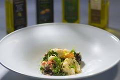 πιάτο gnocchi Στοκ Φωτογραφία