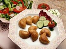 Πιάτο Pirogi Στοκ Εικόνες