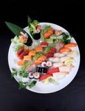 Πιάτο sashimi Στοκ Εικόνες