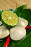 πιάτο sellfish παραδοσιακό Στοκ φωτογραφία με δικαίωμα ελεύθερης χρήσης