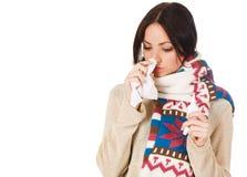 πιασμένες κρύες χαριτωμέν&eps Στοκ φωτογραφία με δικαίωμα ελεύθερης χρήσης