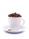 πιατάκι φλυτζανιών καφέ φα&sig Στοκ εικόνα με δικαίωμα ελεύθερης χρήσης