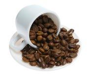 πιατάκι φλυτζανιών καφέ φα&sig Στοκ φωτογραφίες με δικαίωμα ελεύθερης χρήσης