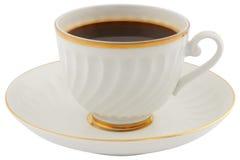 πιατάκι φλυτζανιών καφέ στοκ φωτογραφία