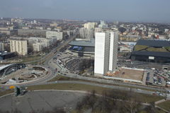 Πιατάκι Katowice στοκ εικόνα με δικαίωμα ελεύθερης χρήσης