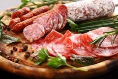 Πιατέλα γευμάτων Antipasto Στοκ εικόνες με δικαίωμα ελεύθερης χρήσης