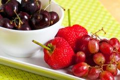 Πιατέλα φρούτων Στοκ φωτογραφία με δικαίωμα ελεύθερης χρήσης