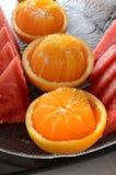 Πιατέλα φρούτων Στοκ εικόνα με δικαίωμα ελεύθερης χρήσης