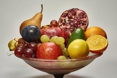 Πιατέλα φρούτων Στοκ Εικόνα